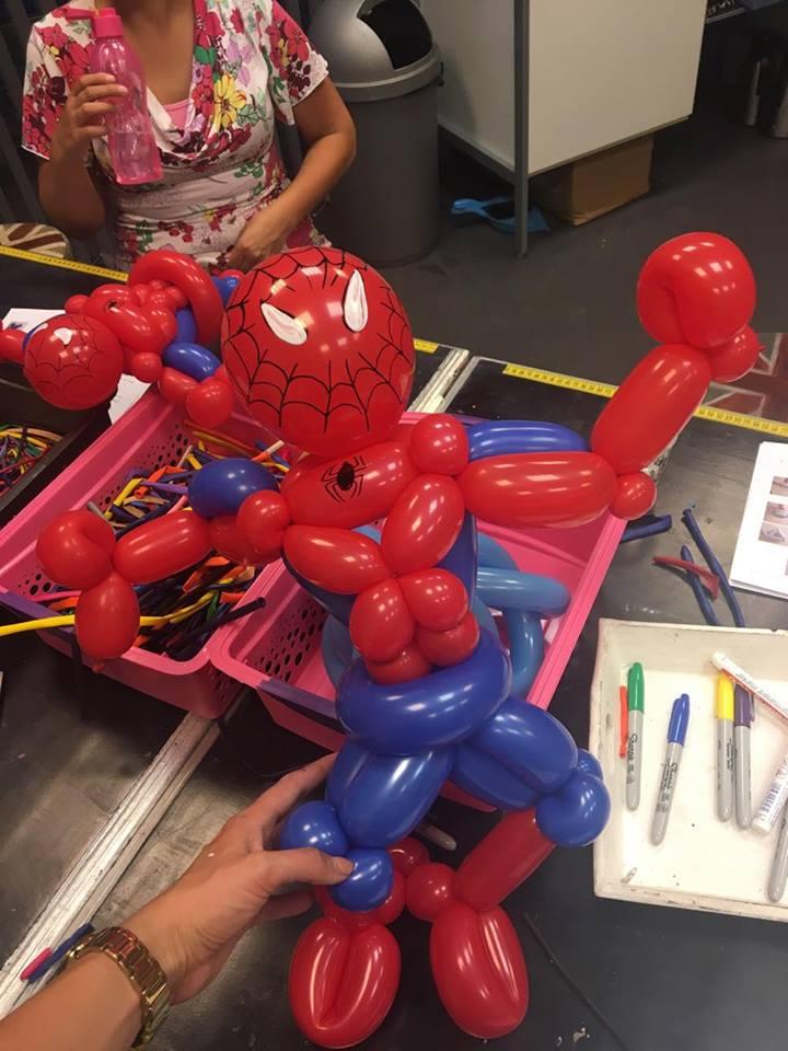 ballon-spiderman